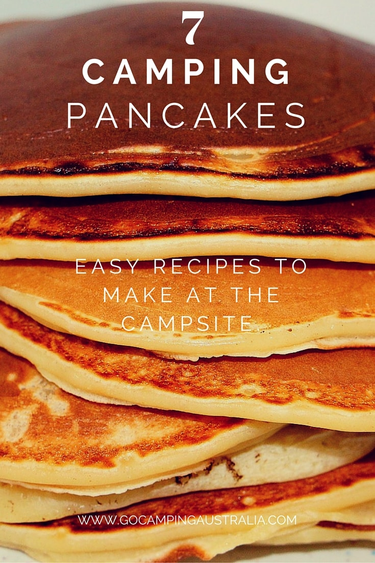 7 easy camping pancakes simple recipes for breakfast when camping easy camping breakfasts using pancakes 7 simple recipes you can make without a lot of ccuart Gallery