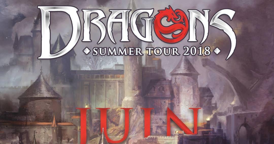 dragons summer tour 2018 les prochaines dates dragons le jeu de r le. Black Bedroom Furniture Sets. Home Design Ideas