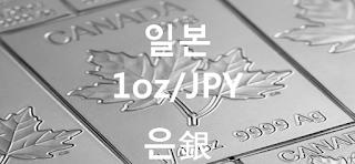 오늘 일본 은 1 온스(oz) 시세 : 99.99 은(銀) 1 온스 (1oz) 시세 실시간 그래프 (1oz/JPY 일본 엔)