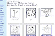 Día Mundial de la Tierra 2018: dibujos e imágenes para niños para colorear e imprimir por el Día de la Tierra