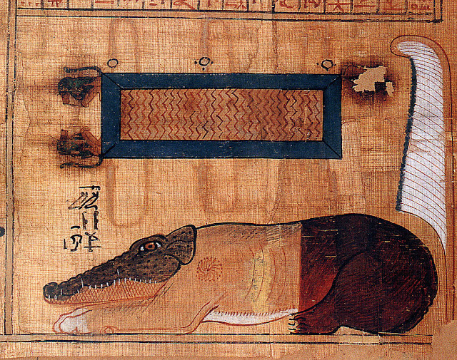 One of the earliest images of Ammit