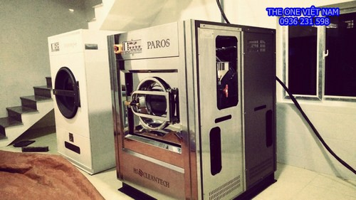 Máy giặt sấy công nghiệp cho khách sạn