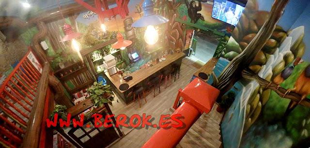 Murales restaurante mexicano Cantina la Hacienda