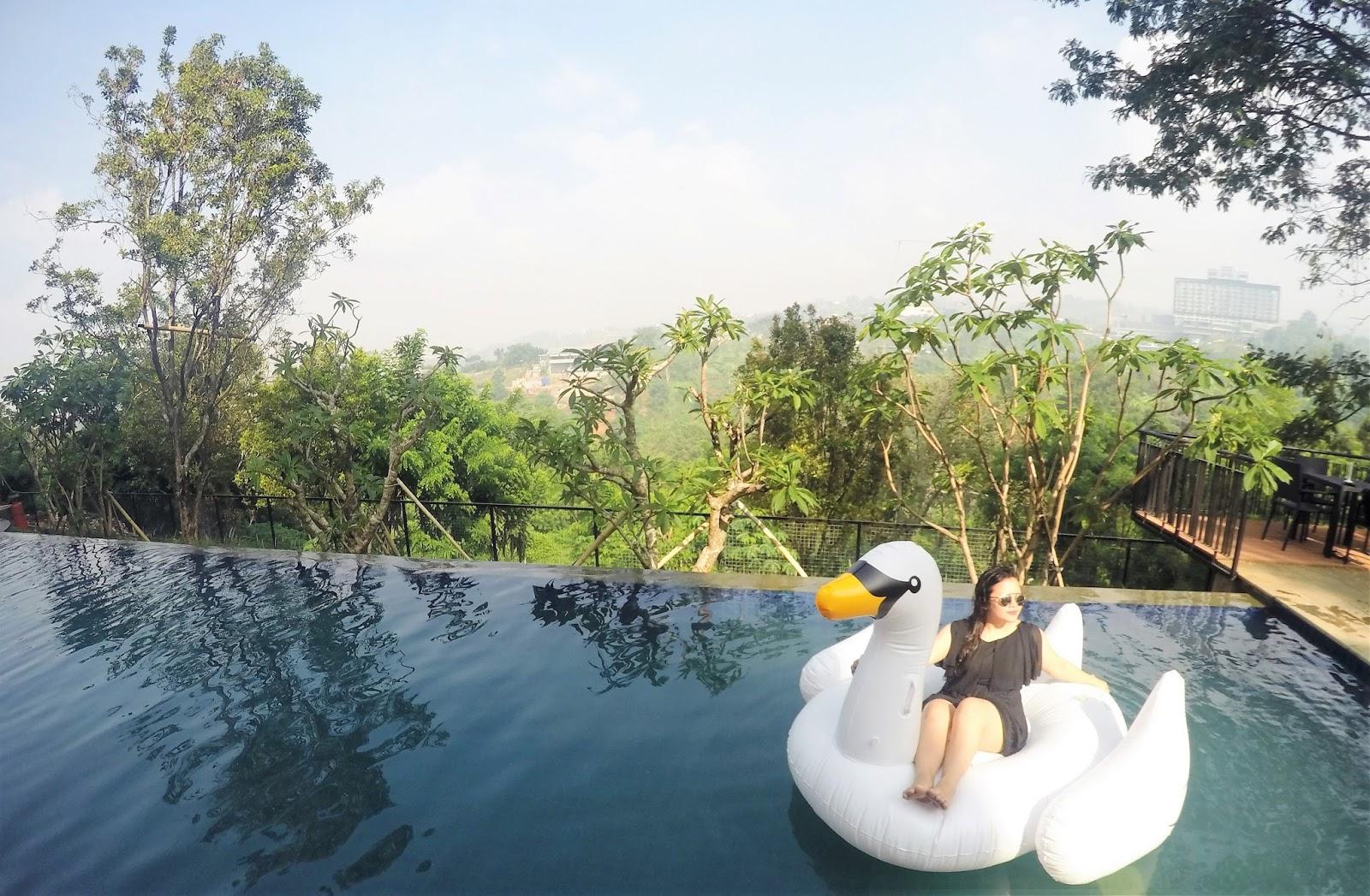 Clove Garden Hotel Sensasi Jacuzzi Infinity Pool Rasa Ubud