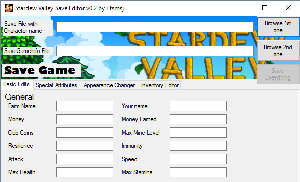 Stardew Valley Save Editor