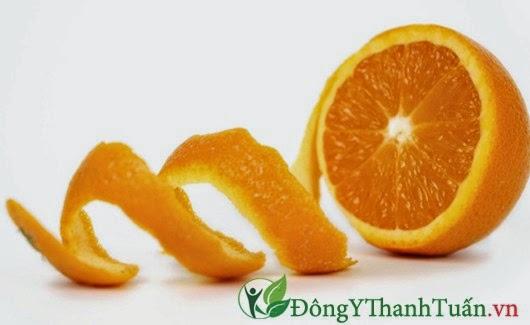 Cách làm giảm đau dạ dày từ vỏ cam