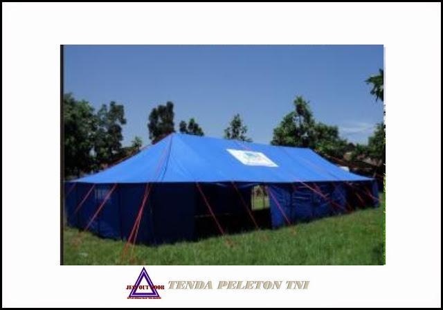 Pabrik Tenda TNI, Tempat, Produksi, Pembuat tenda Pleton PMI,