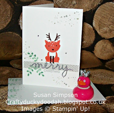 Stampin' Up! UK Independent Demonstrator Susan Simpson, Craftyduckydoodah!, Review of 2016 Part IV, Foxy Friends,Supplies available 24/7,