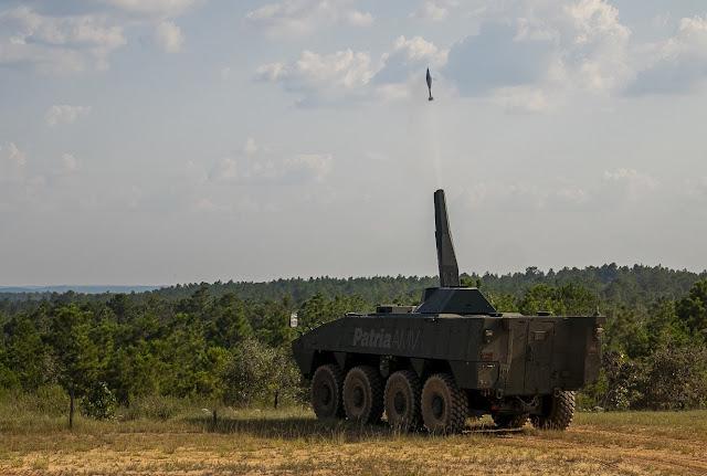 hệ thống súng cối tự hành nemo 120mm Patia