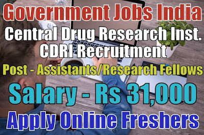 CDRI Recruitment 2019