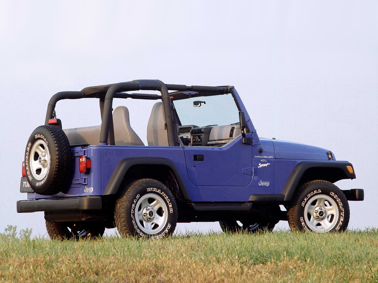 Car Pictures  Jeep Wrangler 1997