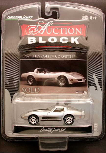 Diecast Hobbist Greenlight Auction Block Series 5