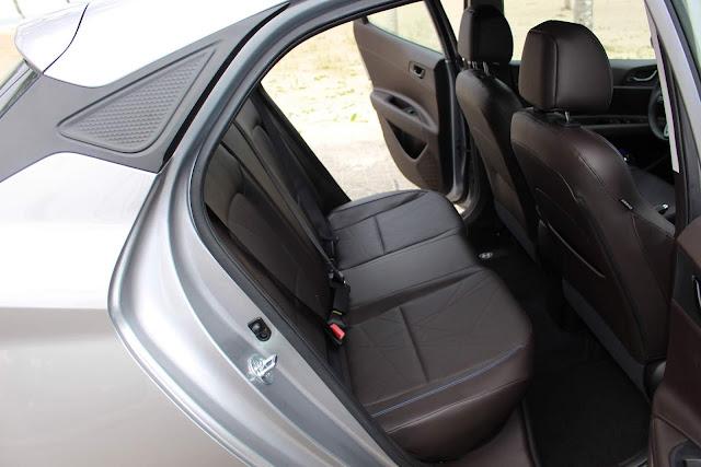 New Hyundai HB20 2020 - espaço traseiro