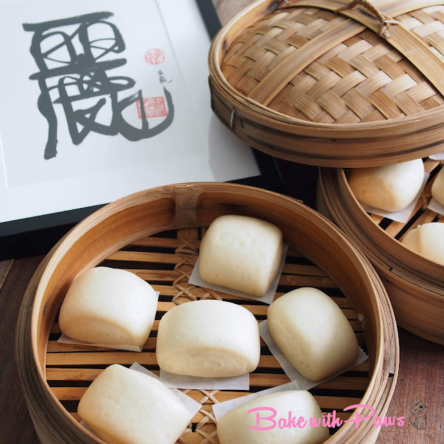 Sourdough Mantou (Sourdough Steamed Buns)