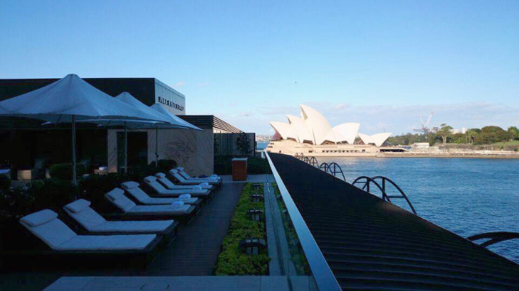 Park Hyatt rooftop jacuzzi and pool, Sydney, Australia, Euriental
