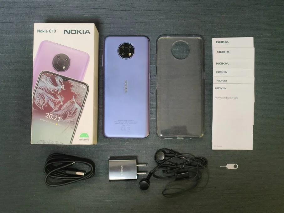 Nokia G10 Retail Package