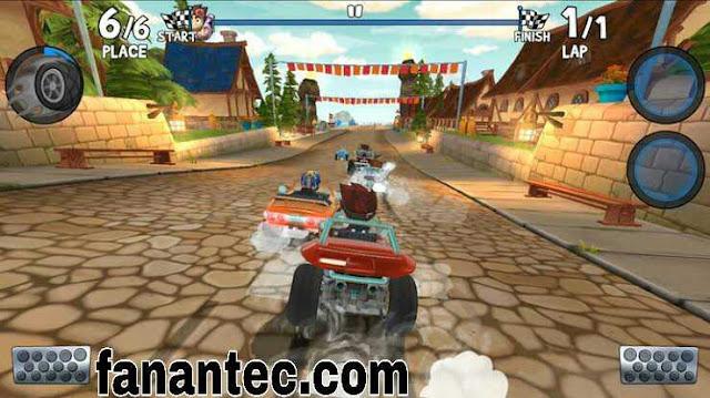 تحميل لعبة beach buggy racing 2 مهكرة 2019 اخر اصدار