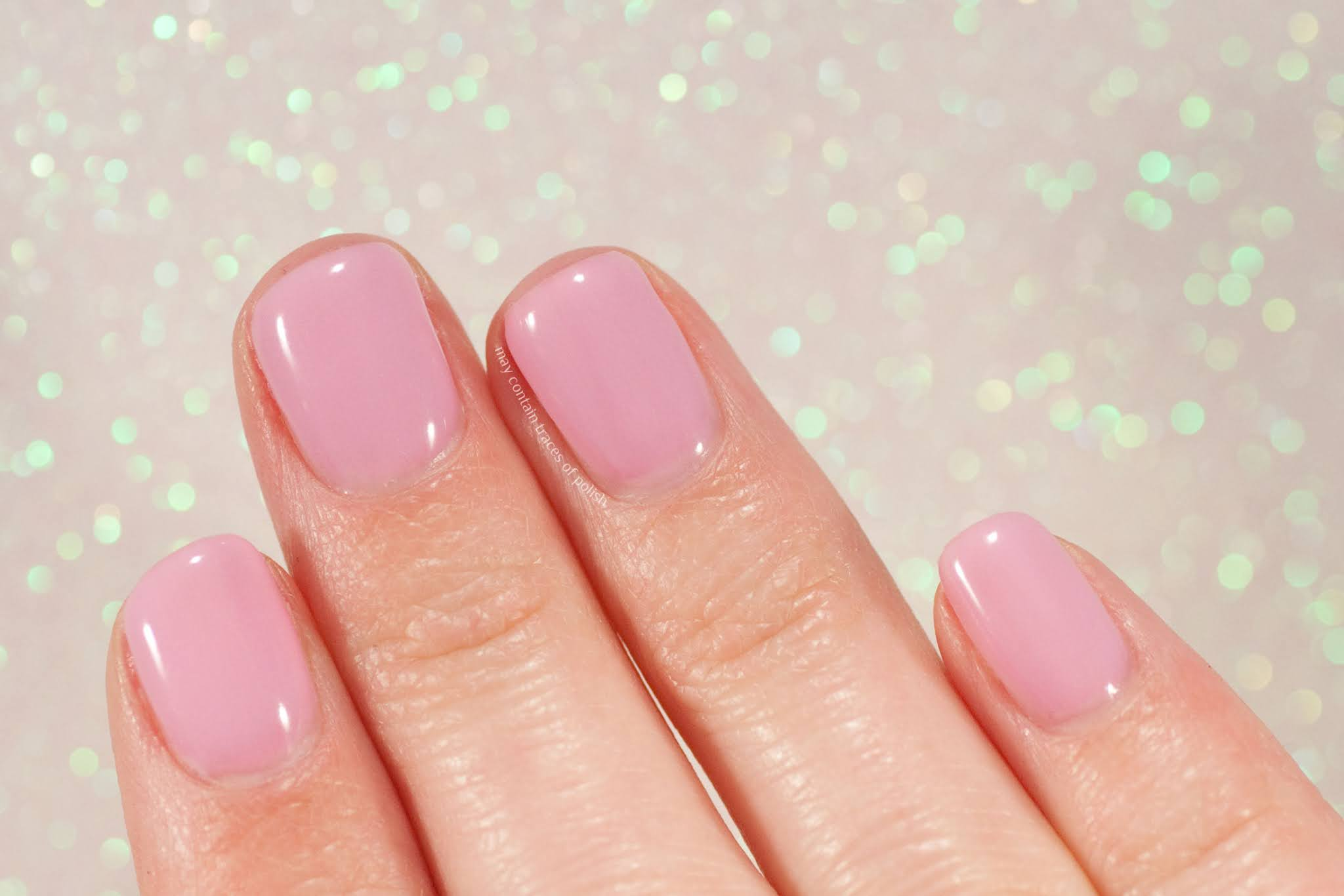 Pink Gellac Swatches - 184 Rosy Pink