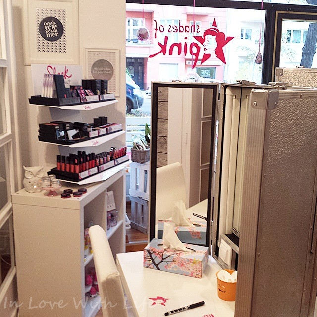 in love with life make up workshop bei shades of pink in berlin. Black Bedroom Furniture Sets. Home Design Ideas