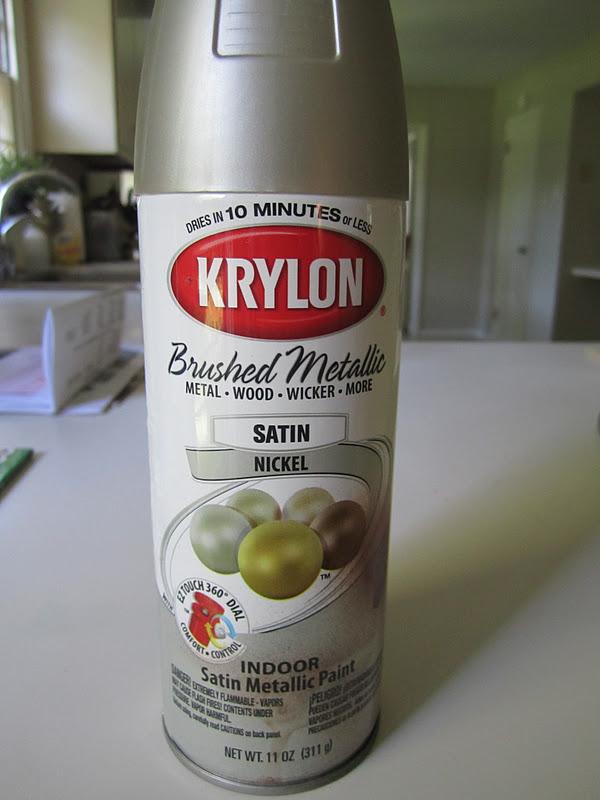 Krylon Brushed Metallic Spray Paint