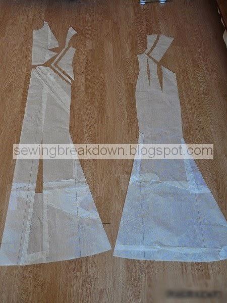 96fc521bb خياطة وتفصيل فستان سهرة | خياطة و تفصيل
