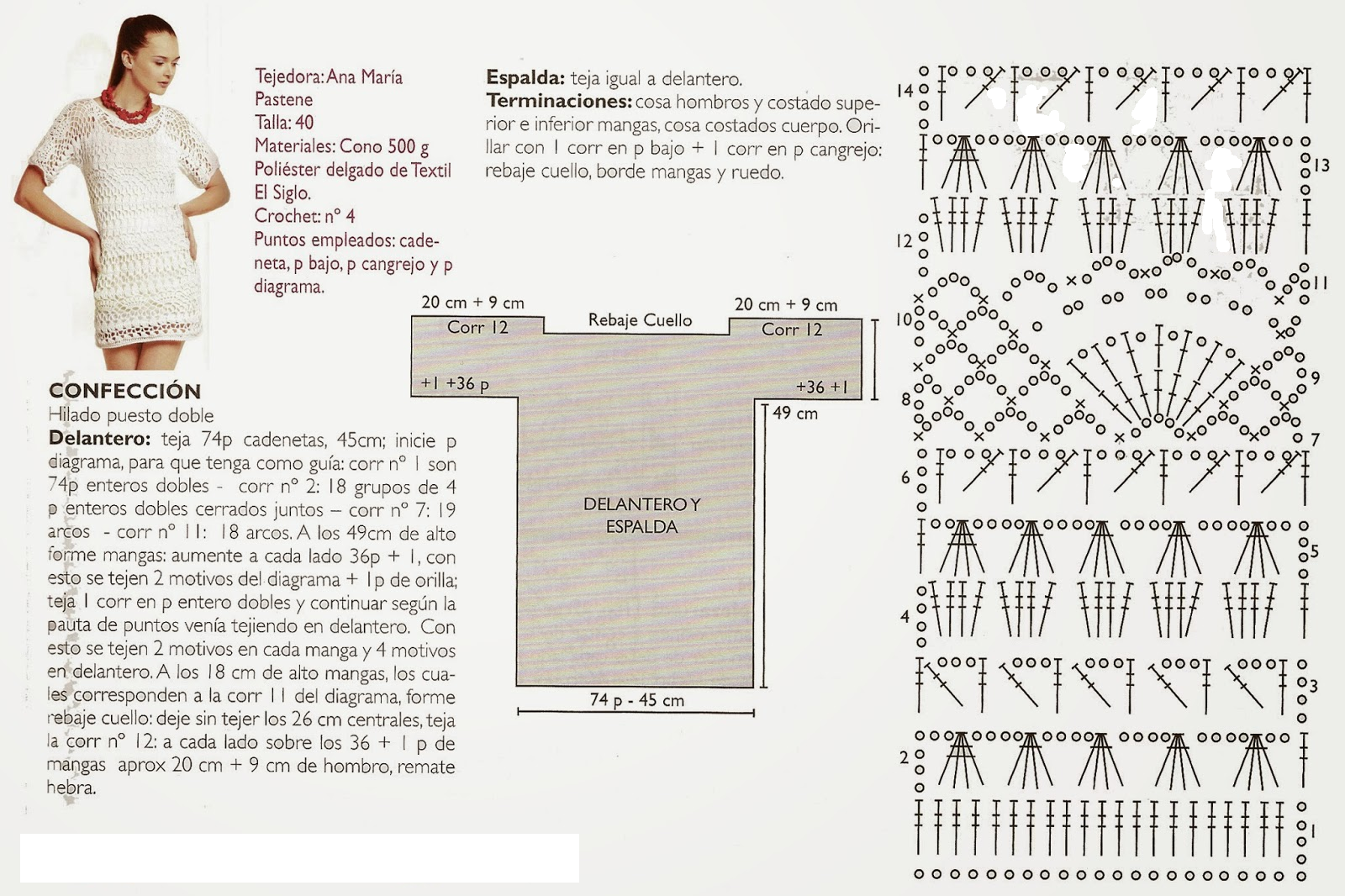 Patrones crochet - Almazuelas patrones gratis ...