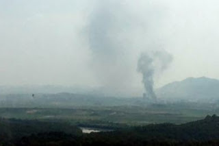 North Korea blows up Kayong Liaison Office used for talks with South