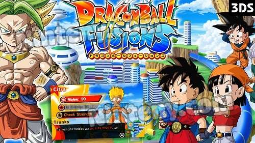 Dragon Ball Fusions Cia USA - EUR