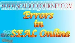 Error-Error di Seal Online BoD