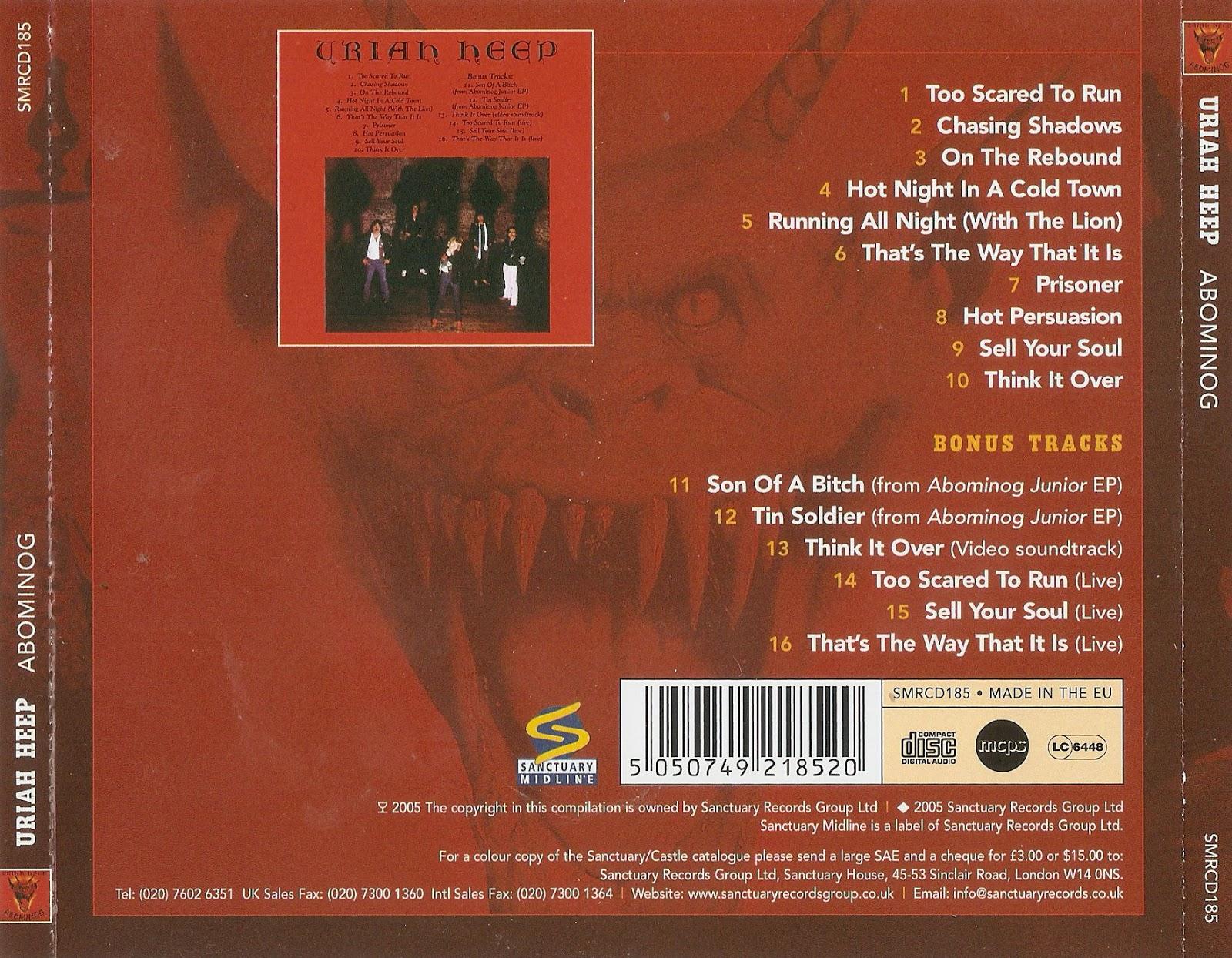 Classic Rock Covers Database Full Album Torrents Uriah Heep Abominog 1982