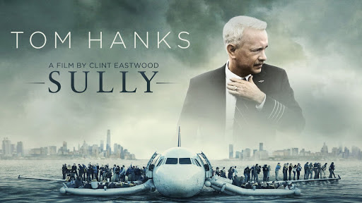 Mais um filminho da Netflix para a conta : Sully - O milagre do Rio Hudson