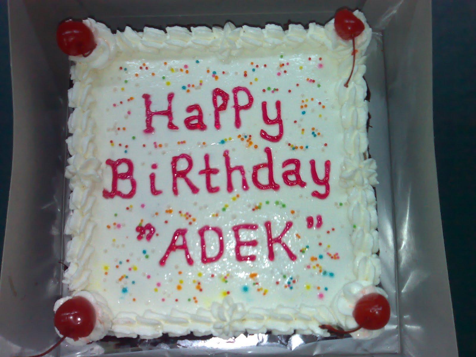 Roti Ulang Tahun Cake Ideas And Designs