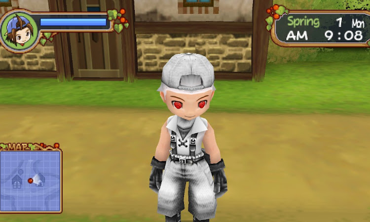 Download Mod Texture Player Character [White Hebi] HM HLV For Emulator PPSSPP