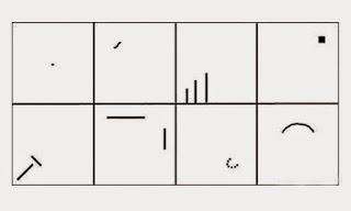 contoh tes menggambar wartegg test yang baik dan benar
