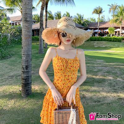 Shop váy maxi đi biển tại Ba Đình
