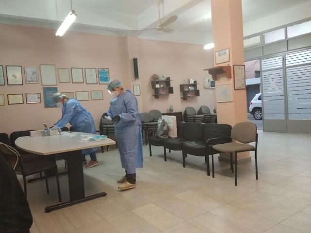 35 δωρεάν rapid test covid-19 στον Σύλλογο Καρκινοπαθών Αργολίδας