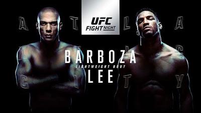Ver UFC Fight Night 128: Barboza vs Lee En vivo gratis 21 de Abril online