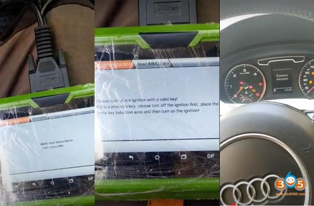 OBDSTAR X300 Pro4 Program Audi Q3 2013 Key 5