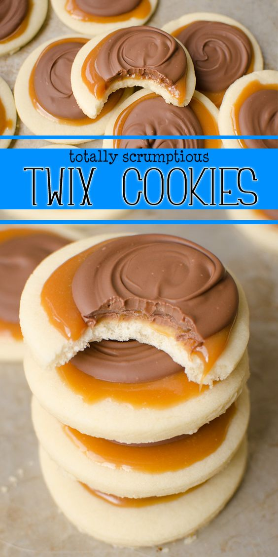 Cookie Food Recipes Cookie Food Twix Recipes Twix CupsDelicious Twix CupsDelicious uOPkXZi