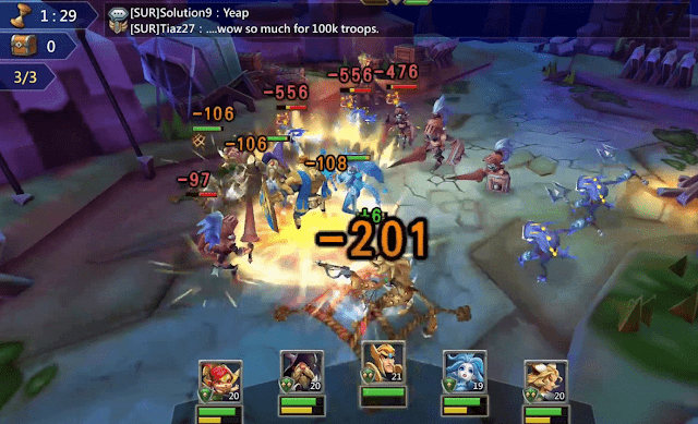 Gameplay Lords Mobile