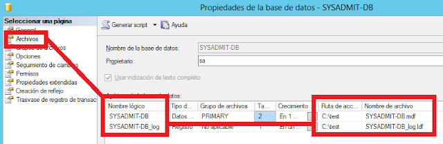 Mover base de datos sql server a otro disco
