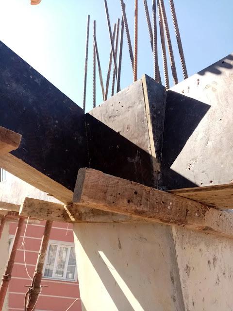 eğik kolonlar