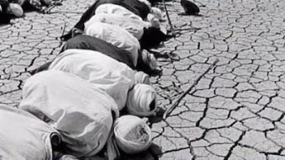 Kemarau Panjang di Zaman Sayyidina Umar, Begini Doa   Istisqa Sayyidina Abbas