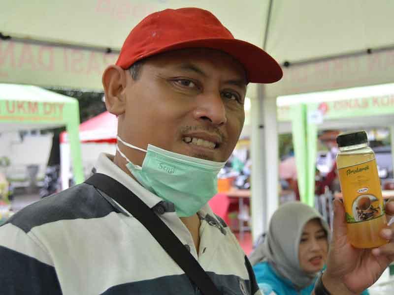 Mengunjungi Pameran Produk Lokal UKM Binaan Diskopukm DIY
