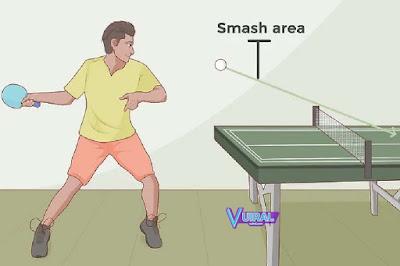 Teknik Dasar Permainan Tenis Meja Smash