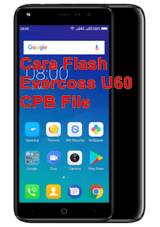 Cara Flash Evercoss U60 CPB File Tested