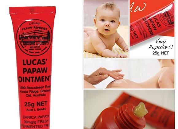 Kem Đa Năng Lucas Papaw Ointment 25g Của Úc