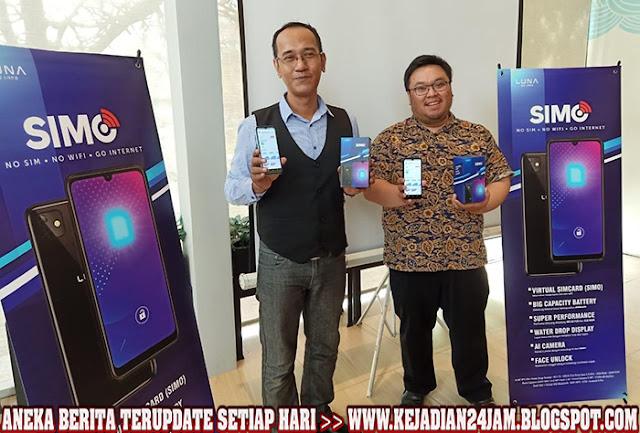 Smartphone Luna Simo Bisa Akses Internet Tanpa SIM Card