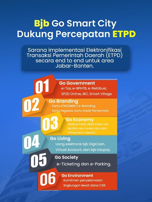bjb Go Smart City Sarana Implentasi ETPD Secara End to End