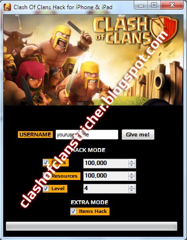 clash of clans tricher